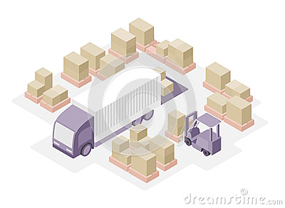 Clipart distribution center.