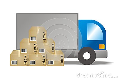 Supplier Distribution Clip Art.