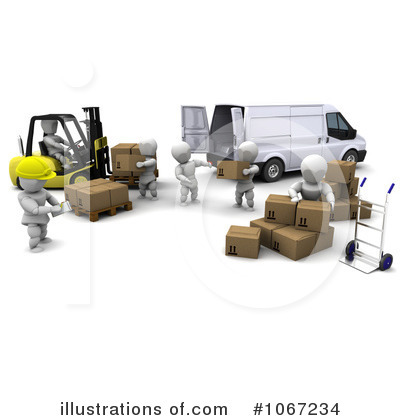 Distribution Center Clipart.