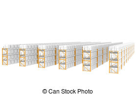 Distribution warehouse Stock Illustration Images. 8,866.