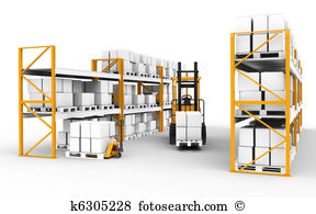 Distribution warehouse Clip Art and Stock Illustrations. 3,366.