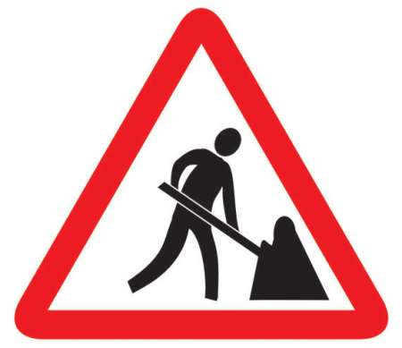 Men at Work Sign, Traffic Signs, Manufacturers, Distributors.