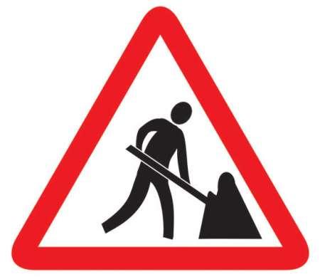 Men at Work Sign, Traffic Signs, Manufacturers, Distributors.