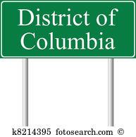 District columbia Clip Art Vector Graphics. 148 district columbia.
