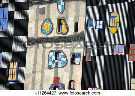 Picture of Hundertwasser district heating plan k11264427.