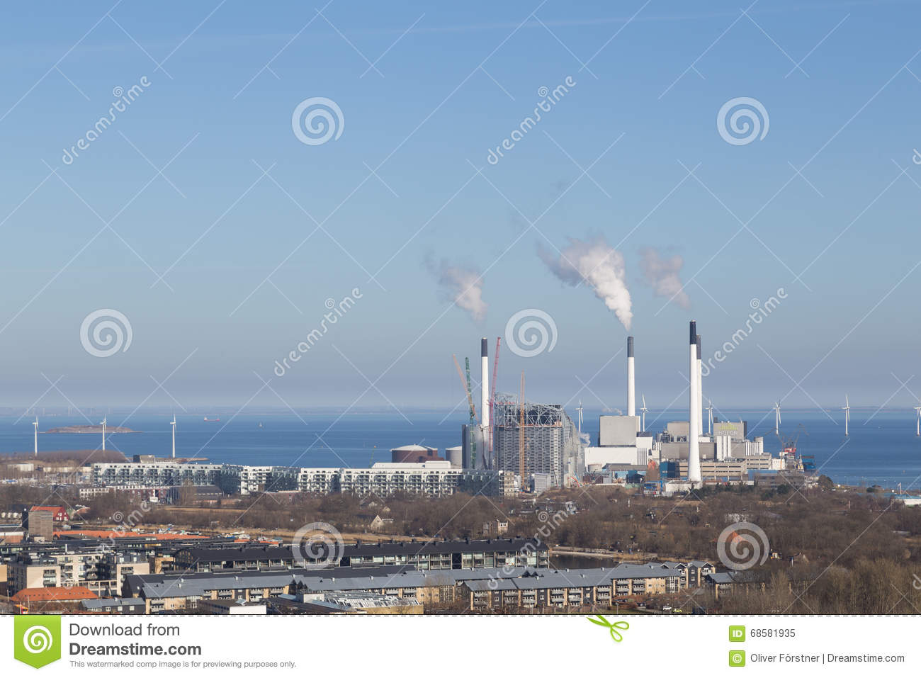 Amager Power Plant In Copenhagen, Denmark Editorial Image.