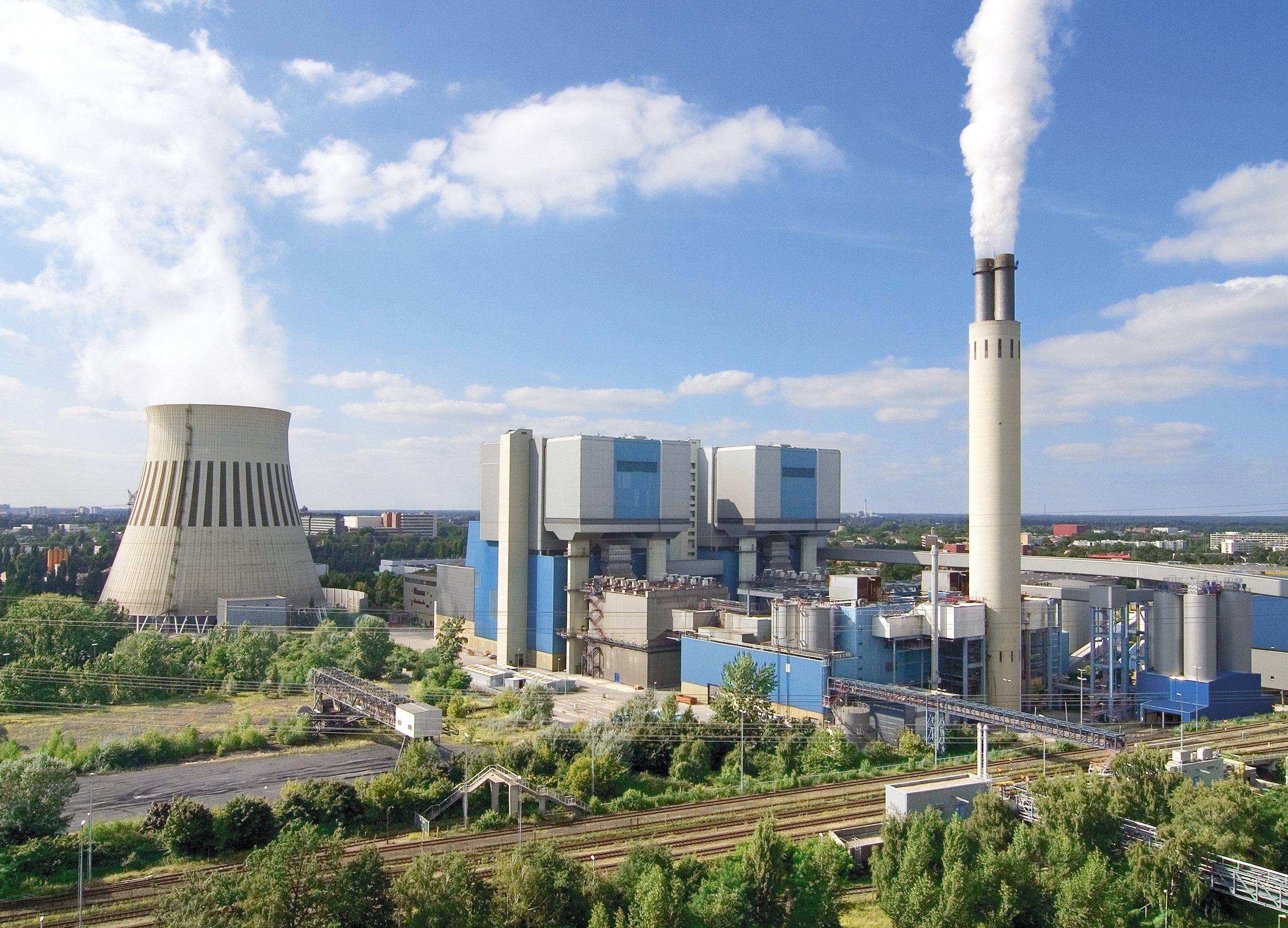 Power plants: Reuter West.