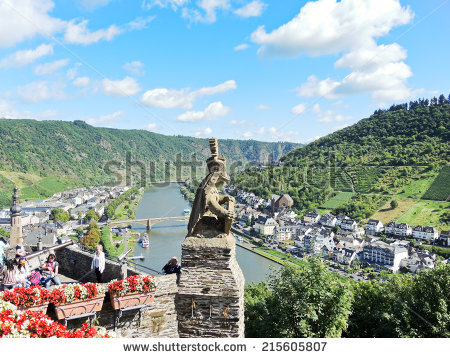 Cochem Germany Stock Images, Royalty.