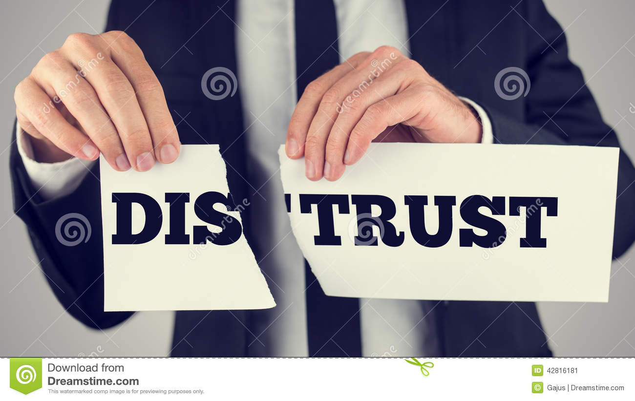 Distrust Stock Photos, Images, & Pictures.