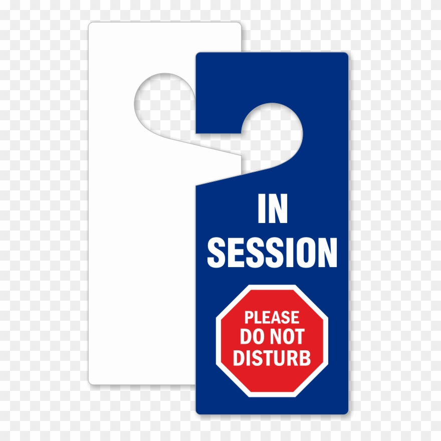 Door Do Not Disturb Sign Clipart (#1132374).