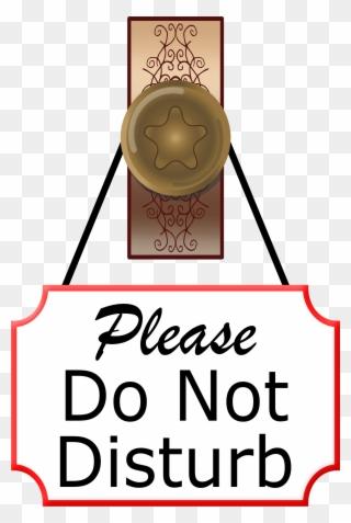 Free PNG Do Not Disturb Clip Art Download.