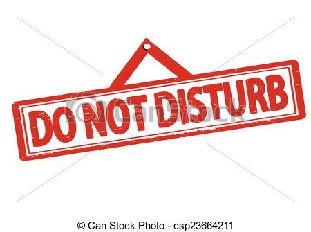 Do not disturb clipart 1 » Clipart Portal.