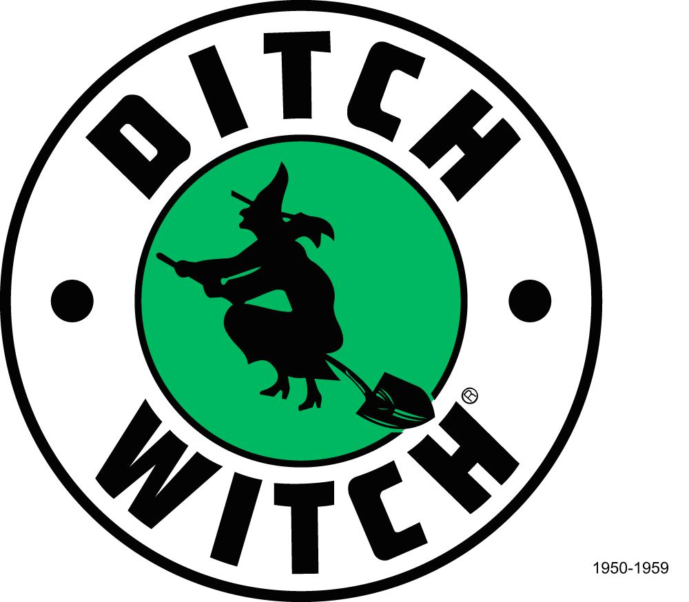 Ditch Witch logo (1950.