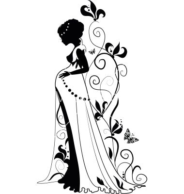 Free Diva Clipart Black And White, Download Free Clip Art.