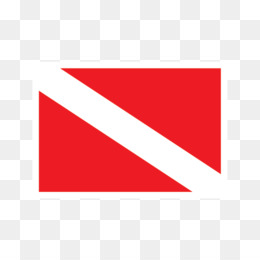 Diver Down Flag PNG and Diver Down Flag Transparent Clipart.