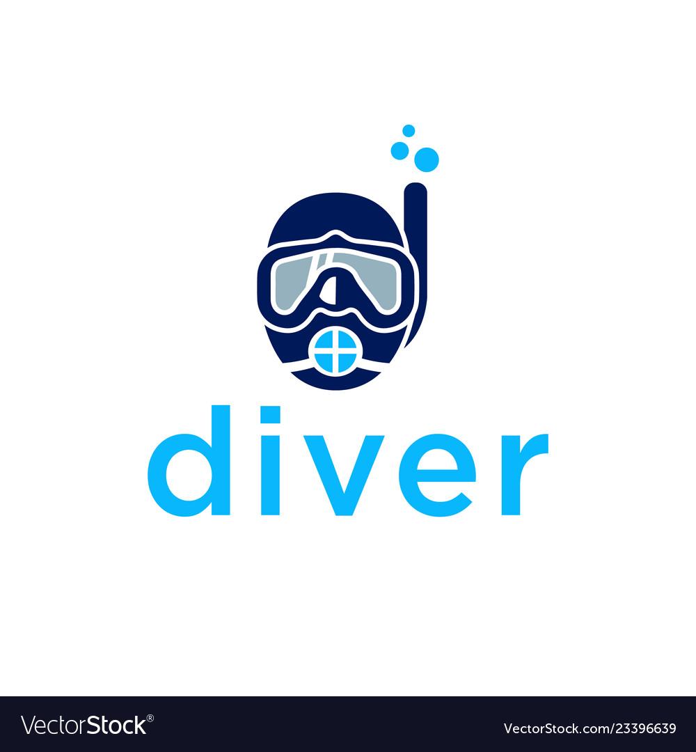 Diver logo design inspiration.