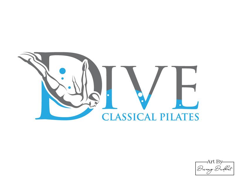 Dive logo design by Devang Dudhat on Dribbble.