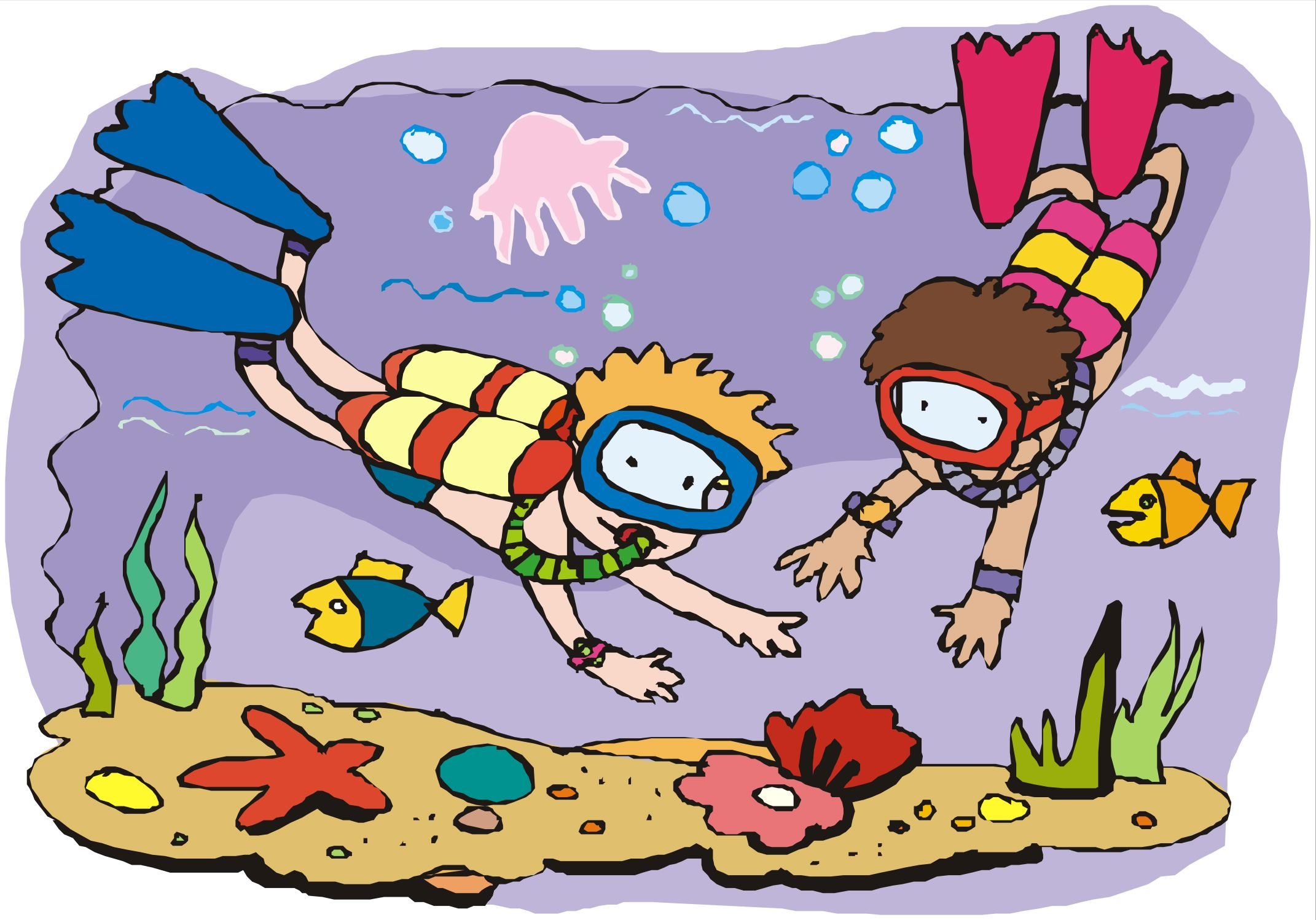Free Cartoon Scuba Diver Pictures, Download Free Clip Art.