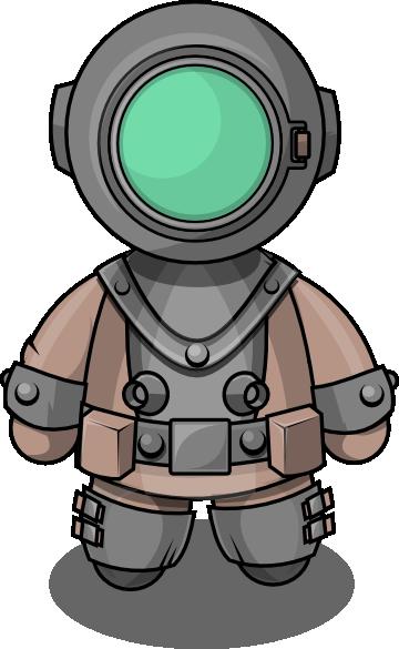 Diver Clipart.