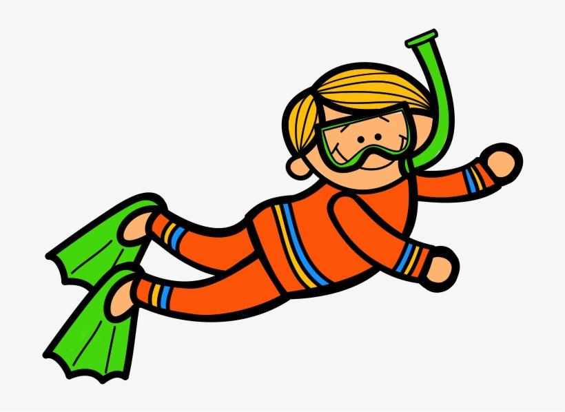 Woman Clipart Scuba Diving.