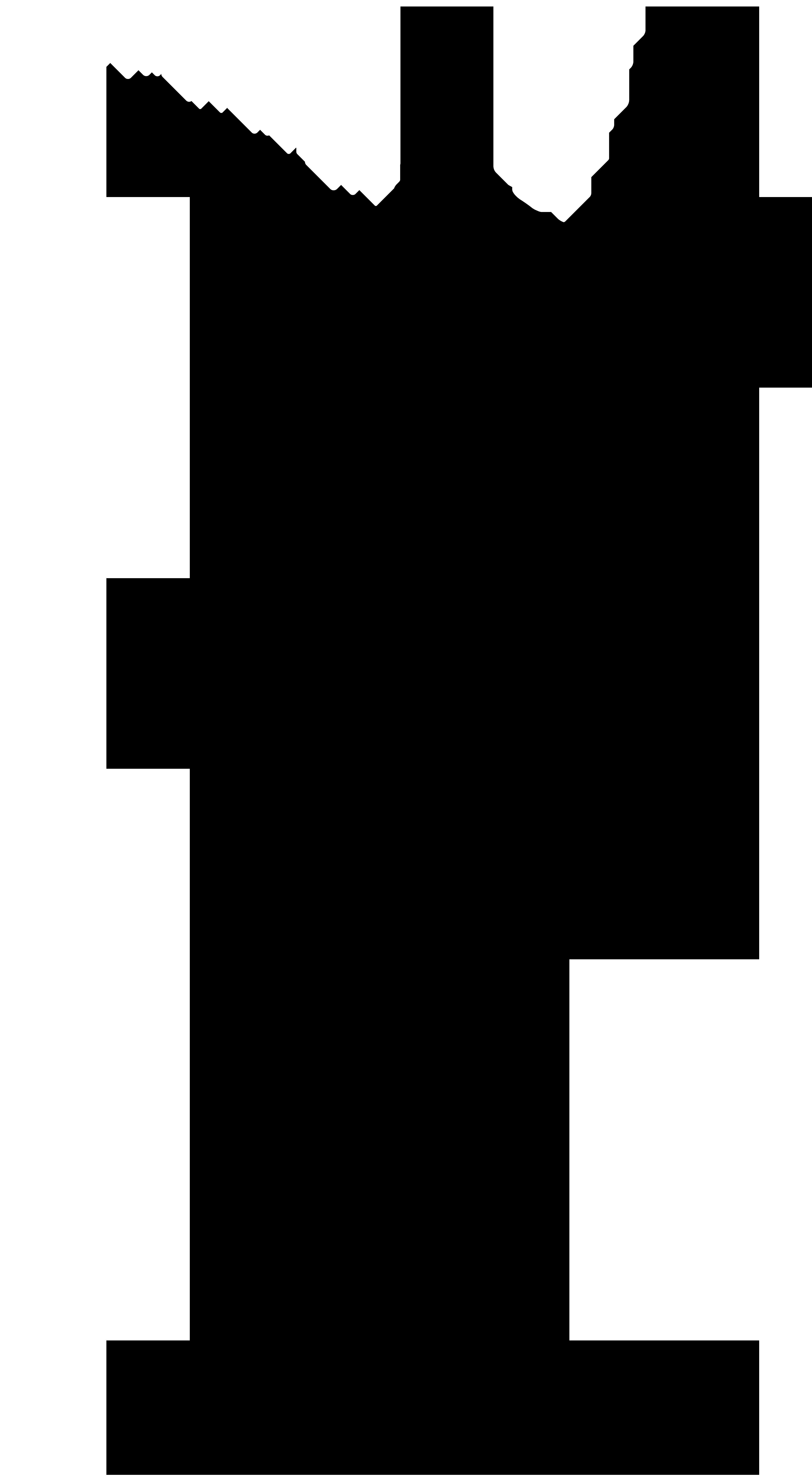 Diver Silhouette PNG Clip Art Image.
