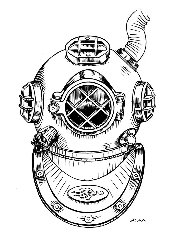 1000+ images about Diving helmet (skaphandrus) on Pinterest.