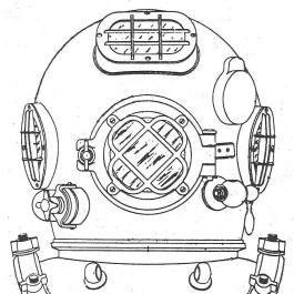 Diver Helmet Clip Art.