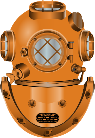 Free Diving Helmet Clip Art.