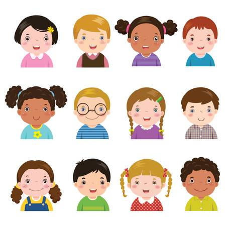 3,891 Diverse Children Stock Illustrations, Cliparts And Royalty.