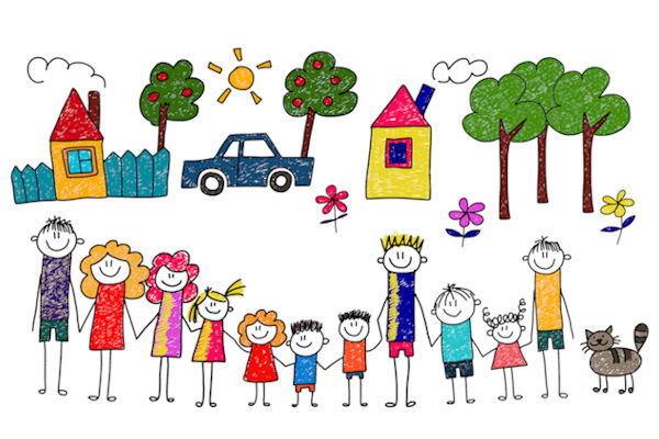 749 Families free clipart.