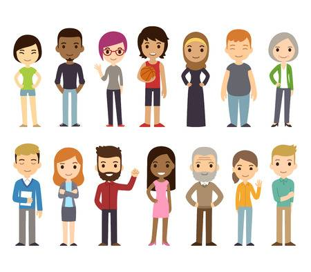 17,830 Diverse People Stock Illustrations, Cliparts And Royalty Free.
