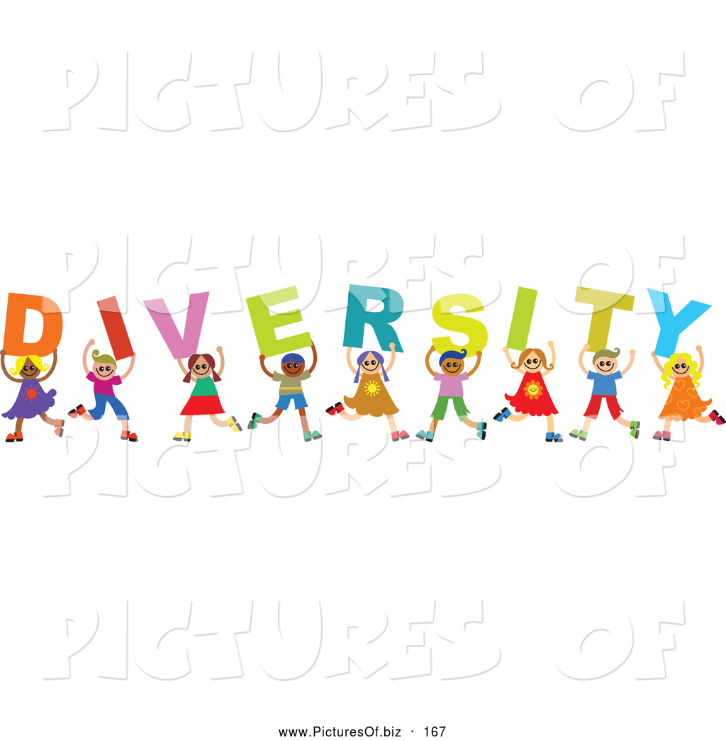 Clip art photo diversity.