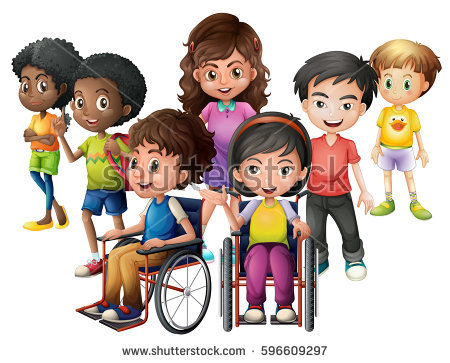 Clipart Diversity Stock Images, Royalty.
