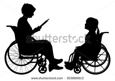 Child Wheelchair Stock Images, Royalty.
