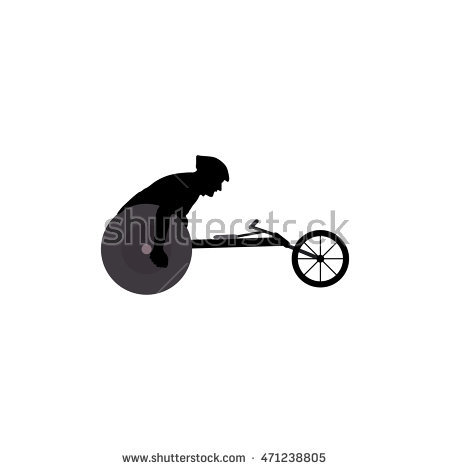 Wheelchair Race Stock Vectors, Images & Vector Art.