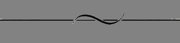 Elegant Scroll Divider Clipart.