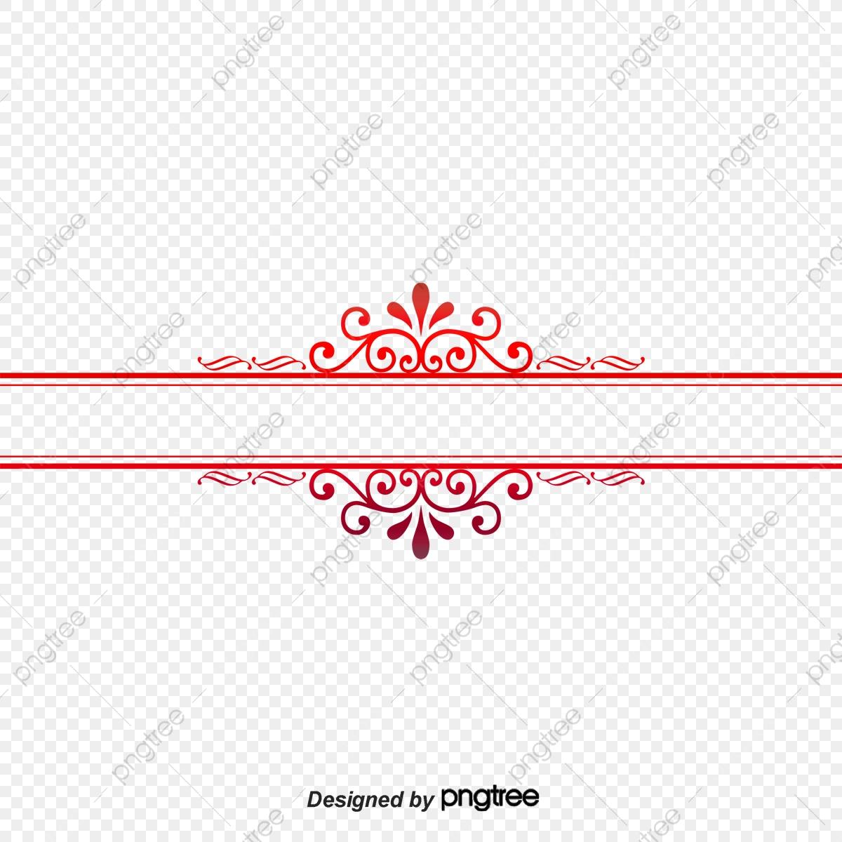 European Pattern Divider Line Border Texture, Line Clipart, European.