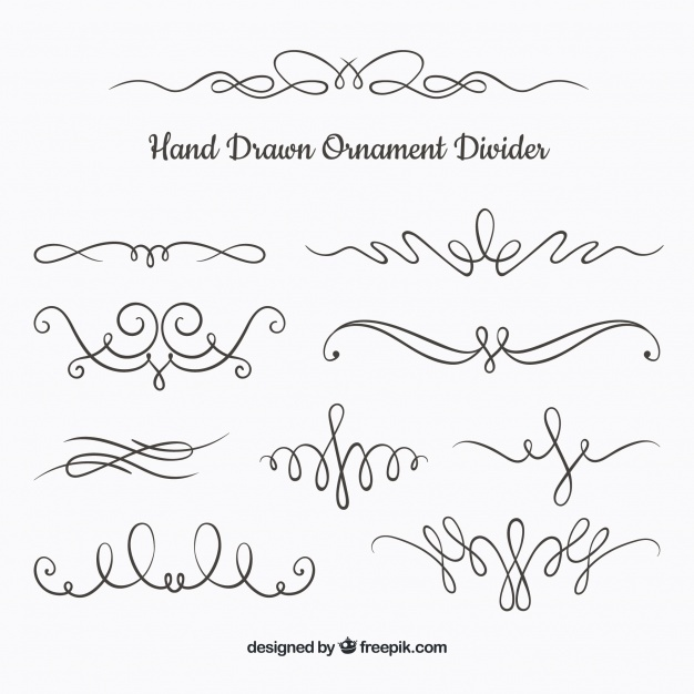 Free Ornament divider collection SVG DXF EPS PNG.