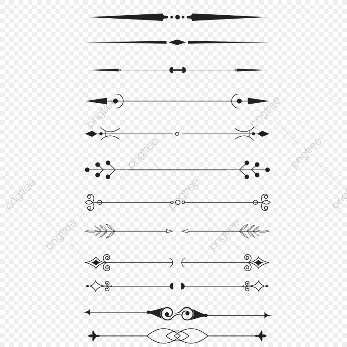 Ornate Divider, Divider, Line, Border PNG Transparent Clipart Image.