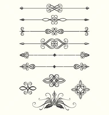 Line dividers vector 620040.