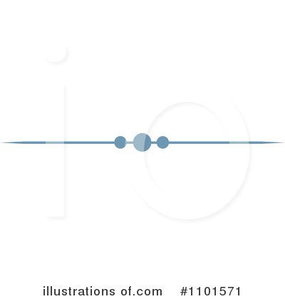 Single line borders clip art