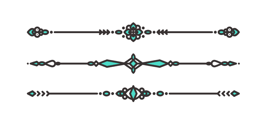 How to Create a Set of Divider Elements in Adobe Illustrator.