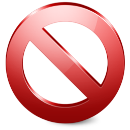 prohibition png image.