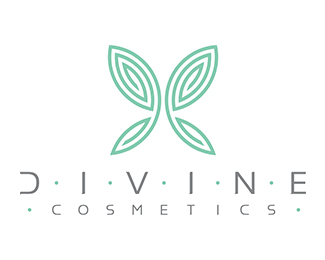 Divine Cosmetics Logo Designed by FloatYourBoat.