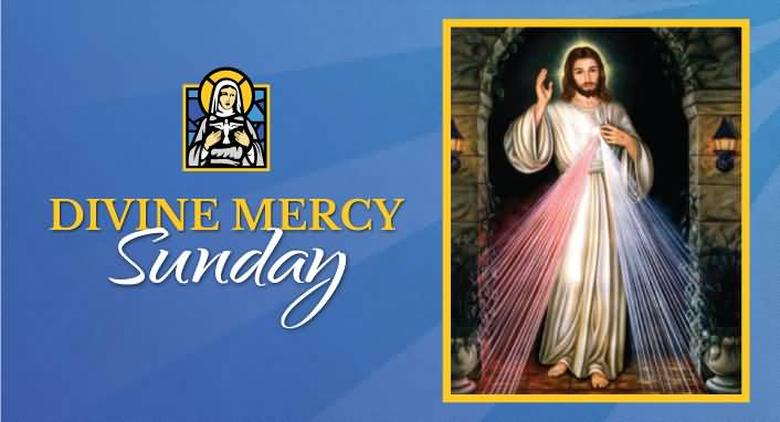 Divine Mercy Sunday Greetings Picture.