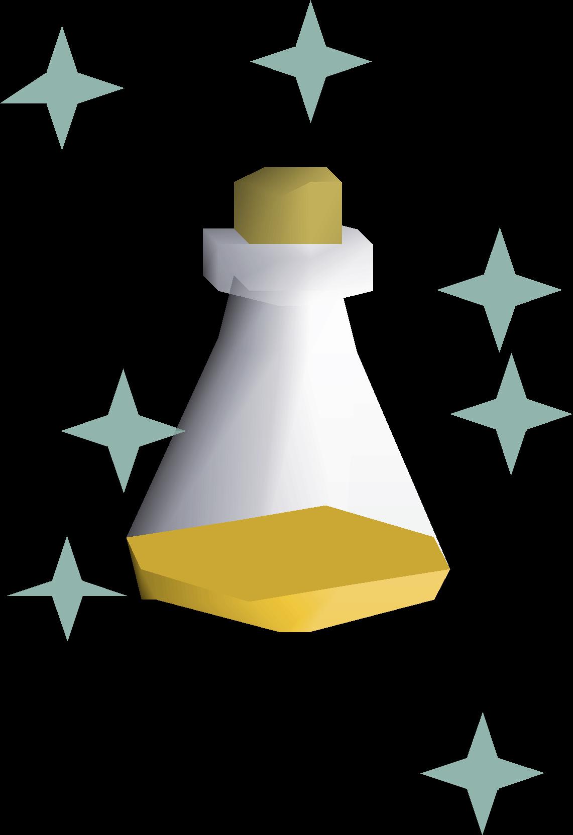 Divine super defence potion.