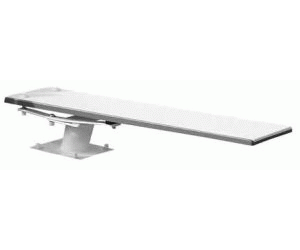 Anthony Board Spec, 3 Hole 6 Ft, Incl. Hdware, White, ANT6WW.