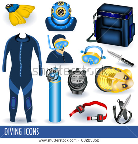 Scuba diving clip art free vector download (212,588 Free vector.
