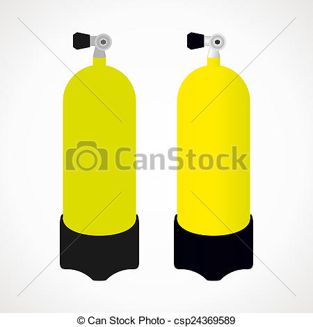 Stock Illustration of bottle diving.
