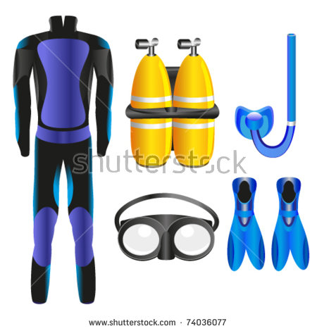 Scuba Equipment Stock Photos, Royalty.